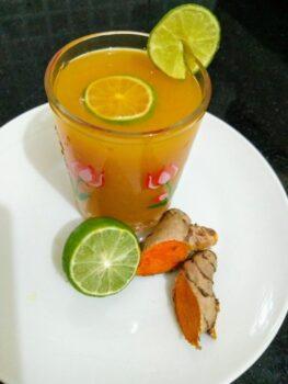 Iced Turmeric Lemonade - Plattershare - Recipes, Food Stories And Food Enthusiasts