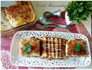 Greek Moussaka - Plattershare - Recipes, Food Stories And Food Enthusiasts
