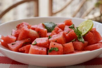 Watermelon Salad - Plattershare - Recipes, Food Stories And Food Enthusiasts