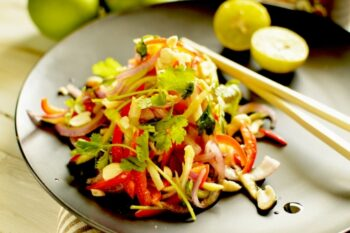 Vegan Thai Salad | Easy Thai Salad - Plattershare - Recipes, Food Stories And Food Enthusiasts
