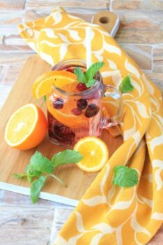 Orange And Raspberry Water Recipe For A Detox Drink - Plattershare - Recipes, Food Stories And Food Enthusiasts