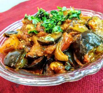 Baingan Aloo Masala Curry - Plattershare - Recipes, Food Stories And Food Enthusiasts