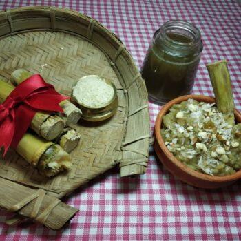 Sugarcane Kheer (Aker Raser Payas) - Plattershare - Recipes, Food Stories And Food Enthusiasts