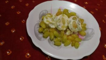 Grapes And Curd Kulfi - Plattershare - Recipes, Food Stories And Food Enthusiasts