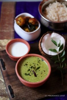 Mor Keerai (Spinach Greens In A Yoghurt And Coconut Sauce / Gravy) - Plattershare - Recipes, Food Stories And Food Enthusiasts