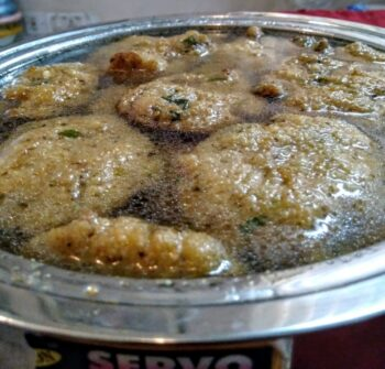 Rajasthani Kanji Vada - Plattershare - Recipes, Food Stories And Food Enthusiasts