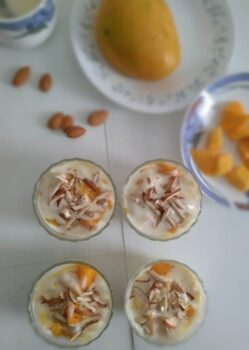 Mangoes In Sweetened Yogurt - Plattershare - Recipes, Food Stories And Food Enthusiasts