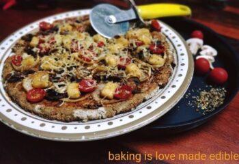 Cauliflower Crust Veggie Pizza - Plattershare - Recipes, Food Stories And Food Enthusiasts