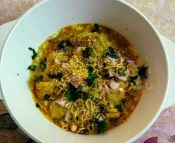 Dahi Bara Aloo Dum Chaat - Plattershare - Recipes, Food Stories And Food Enthusiasts