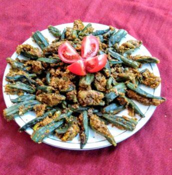 Bharwan Bhindi Masala - Plattershare - Recipes, Food Stories And Food Enthusiasts