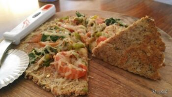 Gluten Free Cauliflower Pizza Crust - Plattershare - Recipes, Food Stories And Food Enthusiasts