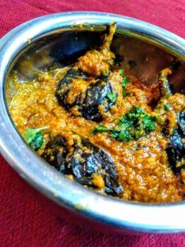 Bharli Vangi (Maharashtrain Brinjal) - Plattershare - Recipes, Food Stories And Food Enthusiasts