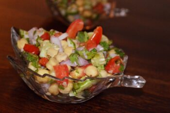 Summer Chickpea Salad - Plattershare - Recipes, Food Stories And Food Enthusiasts
