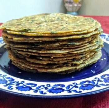 Methi Thepla - Plattershare - Recipes, Food Stories And Food Enthusiasts