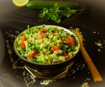 Quinoa Tabbouleh Salad - Plattershare - Recipes, Food Stories And Food Enthusiasts