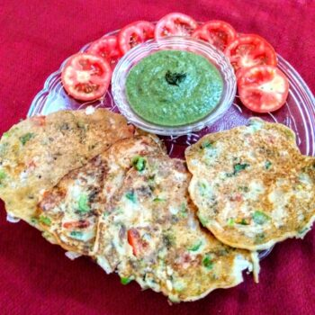 Oats Green Veggies Dosa - Plattershare - Recipes, Food Stories And Food Enthusiasts