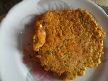 Chana Dal Cheela - Plattershare - Recipes, Food Stories And Food Enthusiasts