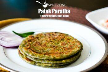 Palak Paratha | Spinach Paratha Recipe - Plattershare - Recipes, Food Stories And Food Enthusiasts