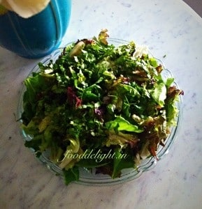 Green Herb Salad - Plattershare - Recipes, Food Stories And Food Enthusiasts