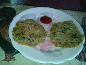 Flax Seeds And Oats Pancake - Plattershare - Recipes, Food Stories And Food Enthusiasts