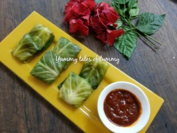 Steamed Cabbage Parcles - Plattershare - Recipes, Food Stories And Food Enthusiasts