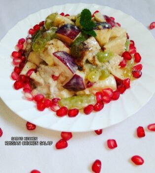 Russian Chicken Salad - Plattershare - Recipes, Food Stories And Food Enthusiasts