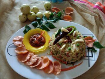 Veg Amla Sadam - Plattershare - Recipes, Food Stories And Food Enthusiasts