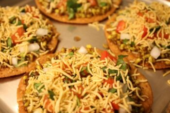 Wheat Sev Puri - Plattershare - Recipes, Food Stories And Food Enthusiasts
