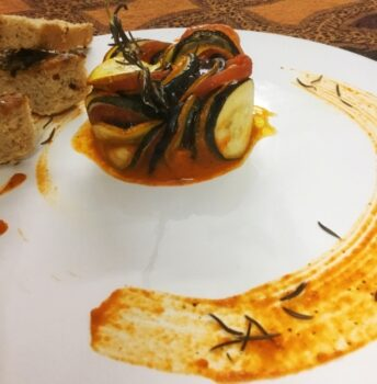 Pixar Style Ratatouille (Confit Byaldi Ratatouille Version) - Plattershare - Recipes, Food Stories And Food Enthusiasts