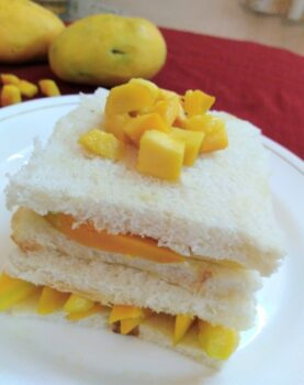 Mango Sandwich - Plattershare - Recipes, Food Stories And Food Enthusiasts