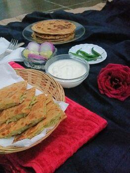 Paneer Garlic Paratha - Plattershare - Recipes, Food Stories And Food Enthusiasts