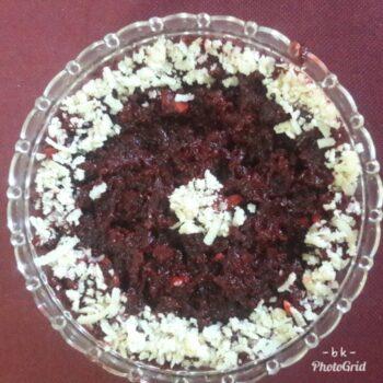 Beetroot Halwa - Plattershare - Recipes, Food Stories And Food Enthusiasts