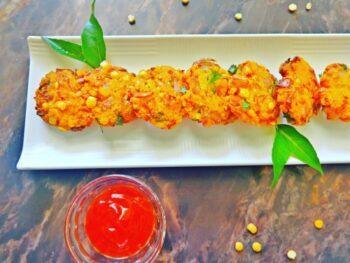 Paruppu Vadai | Masala Vadai | Dal Vada | Lentil Fritters Recipe - Plattershare - Recipes, Food Stories And Food Enthusiasts