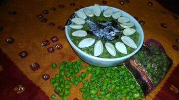 Fresh Green Gram Halwa - Plattershare - Recipes, Food Stories And Food Enthusiasts