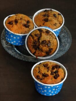 Chia Seeds &Amp; Chocolate Chips Rye Muffins - Plattershare - Recipes, Food Stories And Food Enthusiasts