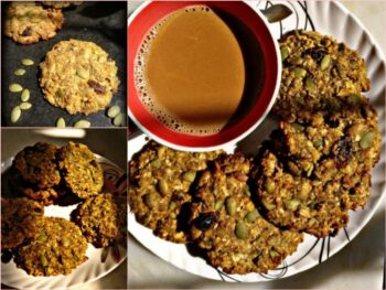 Pumpkin And Flaxseed Cookies - Plattershare - Recipes, Food Stories And Food Enthusiasts