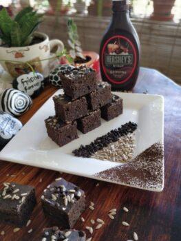 Multigrain Chocolate Sunflower Seeds Cake - Plattershare - Recipes, Food Stories And Food Enthusiasts