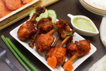 Tandoori Chicken Lollipops - Plattershare - Recipes, Food Stories And Food Enthusiasts