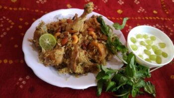 Shahi Chicken Biryani - Plattershare - Recipes, Food Stories And Food Enthusiasts