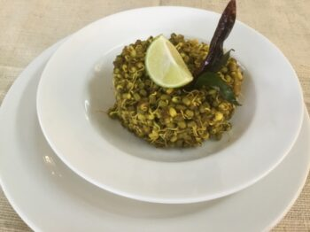 Moong Sprout Masala - Plattershare - Recipes, Food Stories And Food Enthusiasts