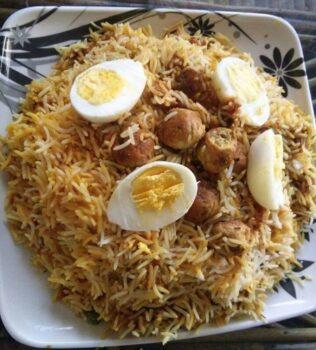 Chicken Kofta Biryani - Plattershare - Recipes, Food Stories And Food Enthusiasts