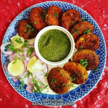 Katthal Ke Shami Kawab - Raw Jackfruit Patties - Plattershare - Recipes, Food Stories And Food Enthusiasts