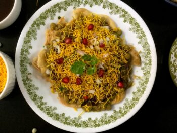 Masala Puri Chaat - Plattershare - Recipes, Food Stories And Food Enthusiasts
