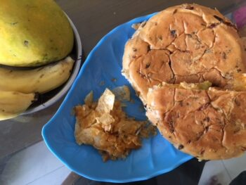 Lehsun Dal Burger - Plattershare - Recipes, Food Stories And Food Enthusiasts