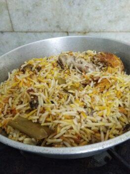 Kolapuri Dum Biryani - Plattershare - Recipes, Food Stories And Food Enthusiasts