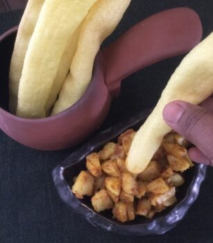 Bhoongla Bataka - Plattershare - Recipes, Food Stories And Food Enthusiasts