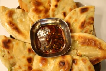 Green Onion Pancake | Spring Onion Paratha - Plattershare - Recipes, Food Stories And Food Enthusiasts