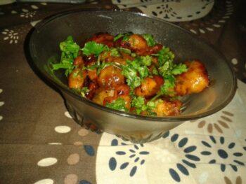 Moong Pakora Chat - Plattershare - Recipes, Food Stories And Food Enthusiasts