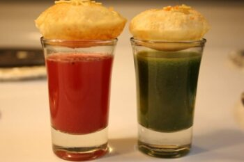 Healthy Pani Puri - Plattershare - Recipes, Food Stories And Food Enthusiasts