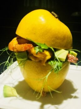 Mango And Lime Marinated Shrimps With Avocado - Plattershare - Recipes, Food Stories And Food Enthusiasts